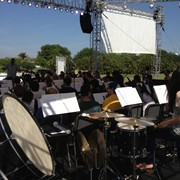 AM Rehearsal - Tanglewood 2013 with the Linn University Orchestra - Boca Raton, FL