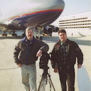 Blast from the Past: O'Hare Airport filming jets on runway