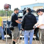 On the set of Cotton Mouth Creek