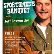 Celebrity comedian Jeff Foxworthy