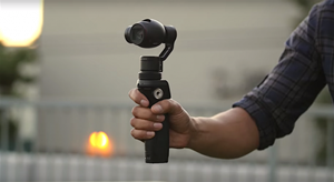 DJI Osmo Is a Powerful 4K Camera with an Integrated 3-Axis Gimbal Stabilizer