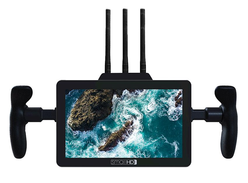 SmallHD Intro's FOCUS Bolt TX and RX Touchscreen Wireless Monitoring