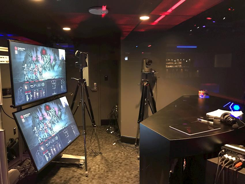 Panasonic AW-HE130, AW-HE2 FHD Pan/Tilt/Zoom Cameras Support Live Production/Streaming at Esports Arena at Las Vegas' Luxor Hotel and Casino