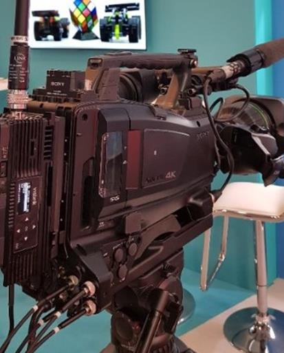 IMT Vislink's Innovative Single-Frame Latency UHD HCAM and UltraReceiver Wireless Camera Solution Makes U.S. Debut at NAB NY