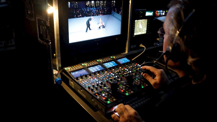 DP Greg Wilson and TV Tech Managers employ VariCam LTs with CineLive for Karate Combat: One World