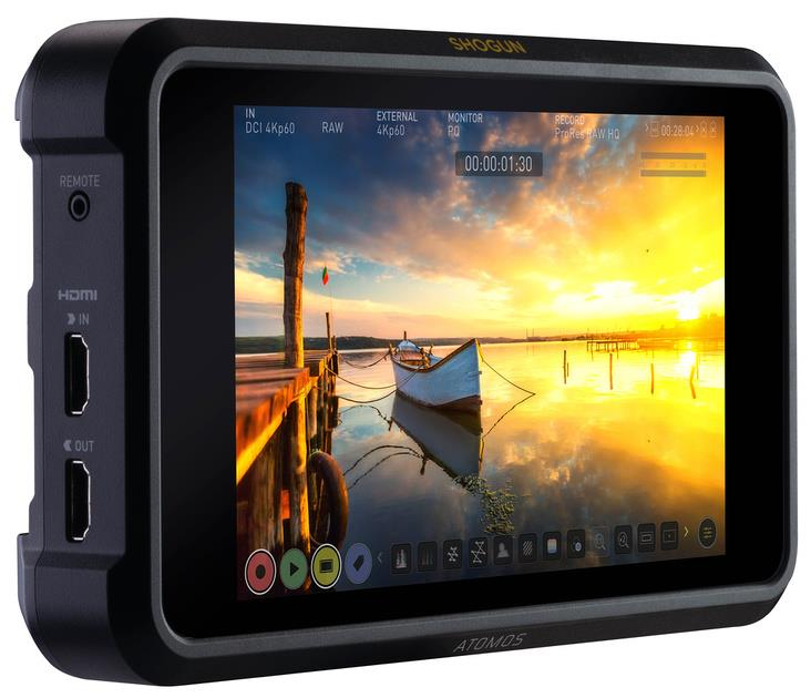 Atomos unveils Shogun 7 – the ultimate monitor, recorder and switcher with unbelievable HDR