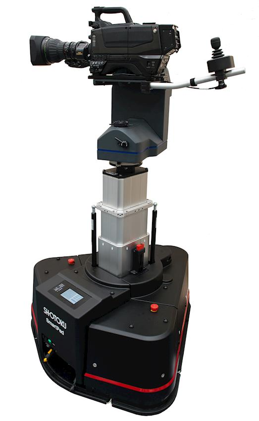 Shotoku Hits the Heights with Ceiling Mounted Rail System and On-Air Proven Robotic Pedestal with Unparalleled Control Features