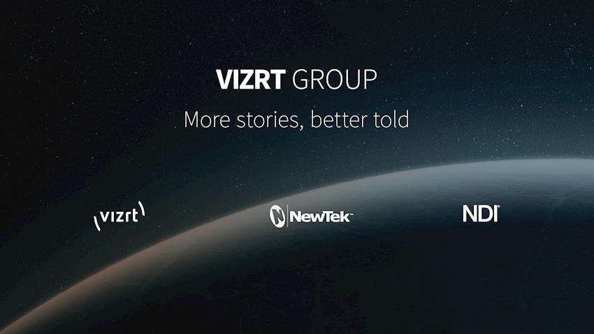IBC 2019: Pioneering visual storytelling brands Vizrt, NewTek™ and NDI® unite under single purpose