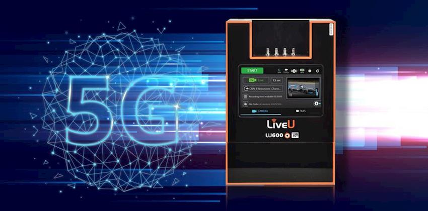 LiveU Unveils the First Integrated 5G Cellular Bonding Unit for Live Coverage