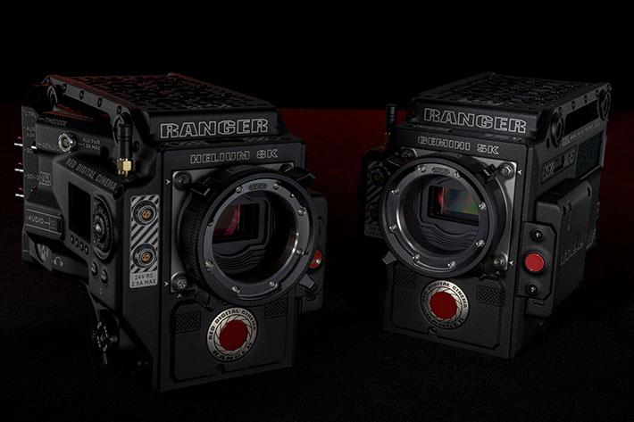 RED Digital Cinema Adds HELIUM and GEMINI Sensor Options To RANGER Camera System