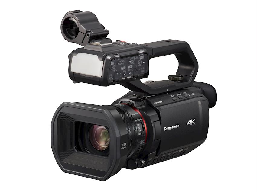 Panasonic Announced Three of the Industry's Smallest and Lightest 4K 60P Professional Camcorders With a Wide-Angle 25MM Lens and 24x Optical Zoom
