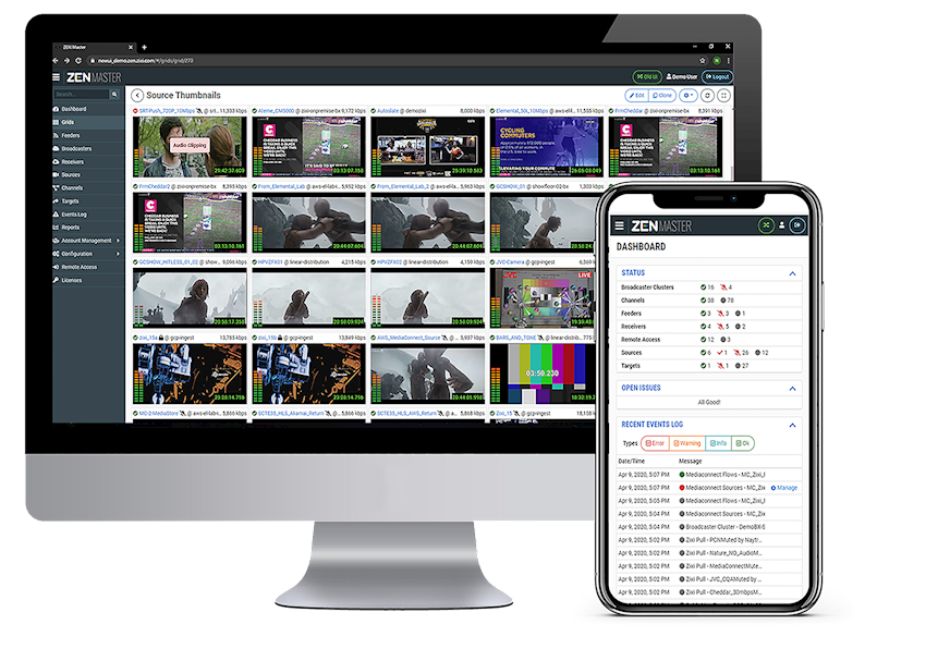Zixi Live Streams 4K Content on the 5G Edge with AWS Wavelength
