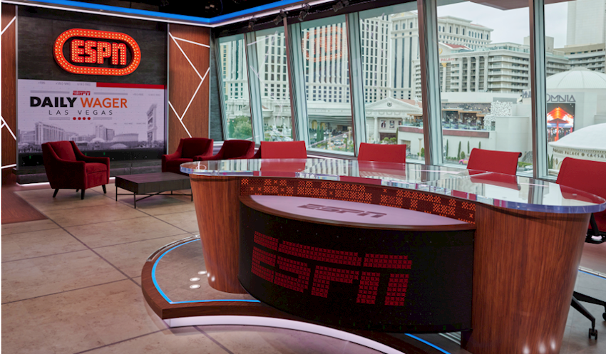 Inside ESPN's New 4K-Capable Video Content Factory on the Las Vegas Strip