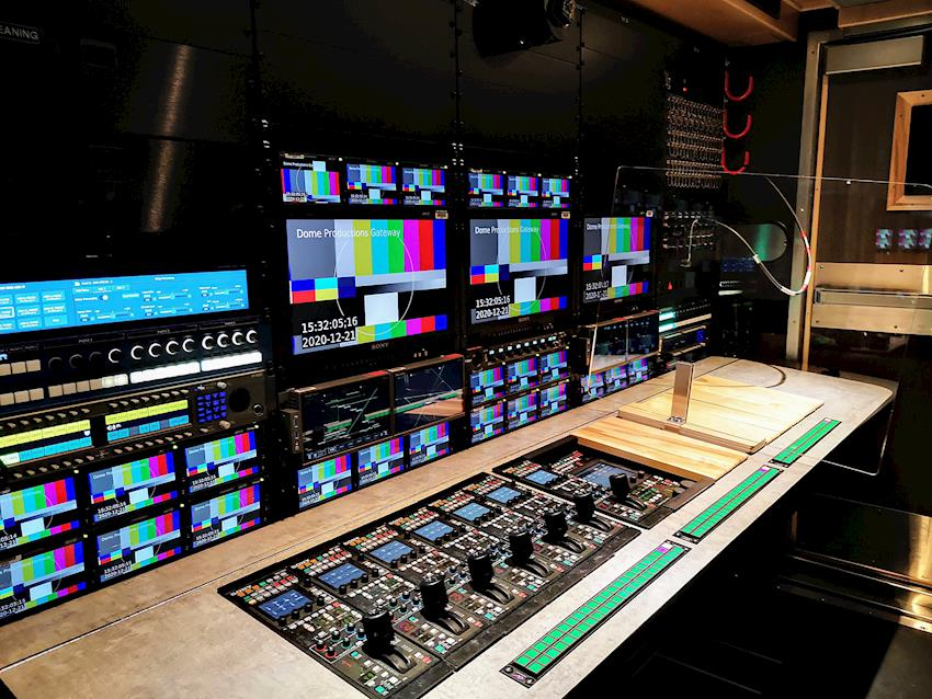 Dome Productions Tackles 4K and HDR Production with Help from Sony's PVM-X Series Monitors