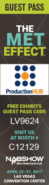 ProductionHUB NAB Banner