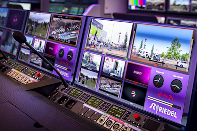 Riedel Launches MultiViewer and Desktop SmartPanel at NAB Show