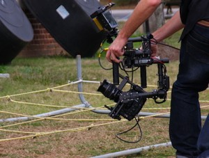 Using the new MōVI Steadicam in TV Commercial Application
