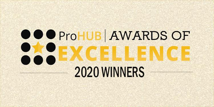 Announcing the 2020 ProductionHUB Awards of Excellence Winners
