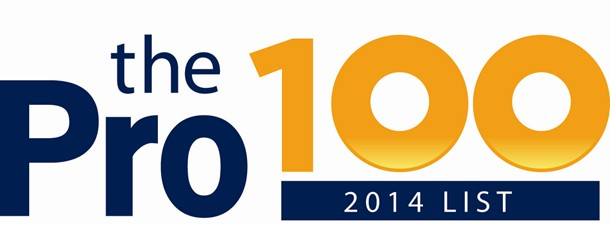 Congrats to the 2014 Pro100 Winners!