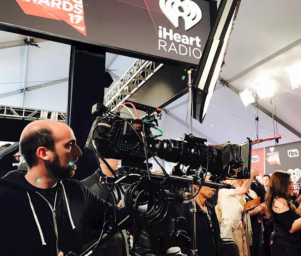 Shooting a Live Red Carpet at the iHeartRadio Music Awards: Here's How it's Done