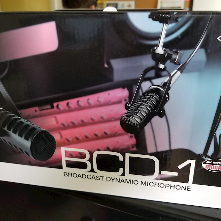 In Review:  MXL BCD-1 Broadcast Dynamic Microphone