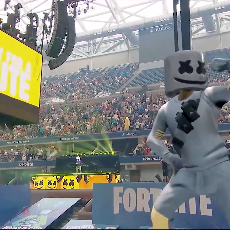 Ncam 'Drops In' Live Augmented Reality Characters at the Fortnite World Cup Finals