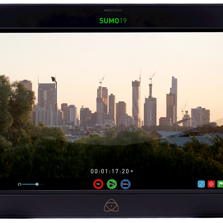 When is a monitor not a monitor? Alan Stockdale records ProRes RAW on the Atomos Sumo19