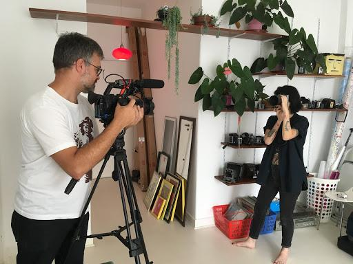 Shooting Vertical Videos for an Instagram Series with Top Brazilian Creatives