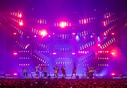 VER Provides Global Lighting Services to Bruno Mars 24K Magic World Tour