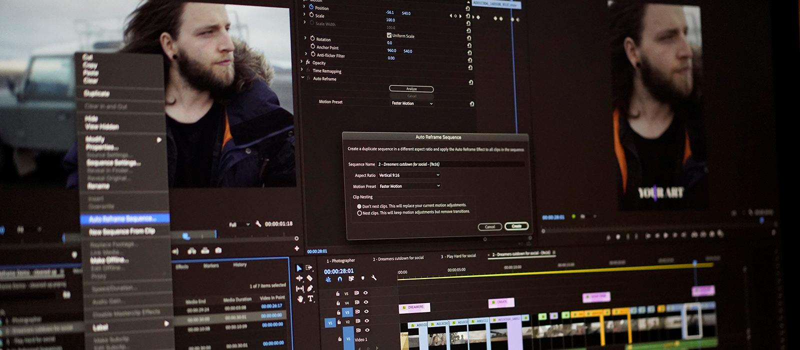 Faster, Smarter, More Creative: Latest release of the Adobe video and audio apps now available