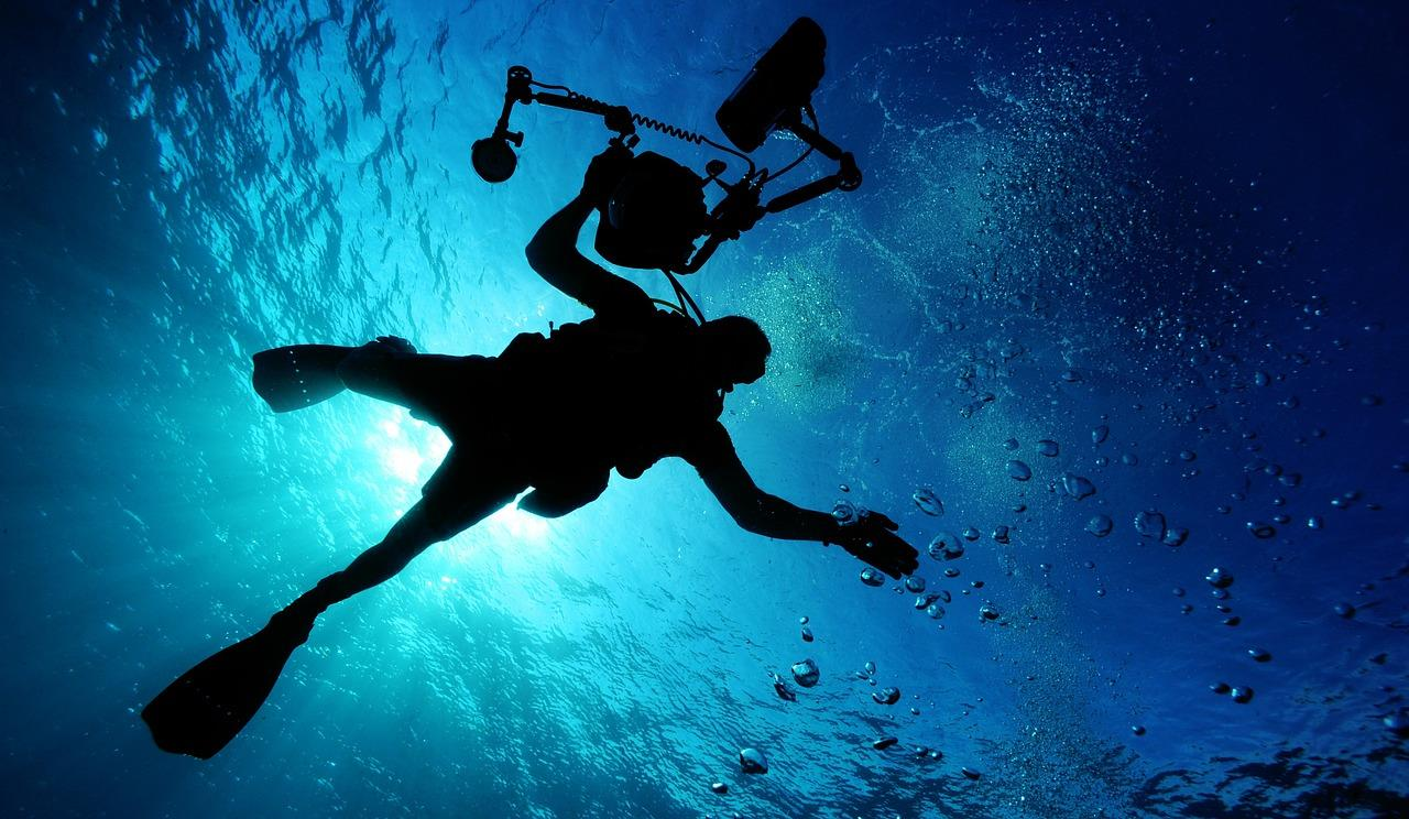 Great locations for underwater filming in Florida