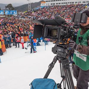 Specialty Camera Operator Corey Koniniec Uses Core SWX at the Olympics