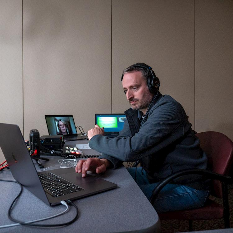 Focal Point Productions Uses ATEM Mini to Live Stream Interviews for GBMC HealthCare System