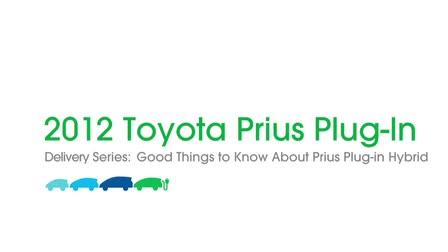 Prius Plug In Demo