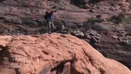 Moab Aerial Video - Behind the Scenes competition