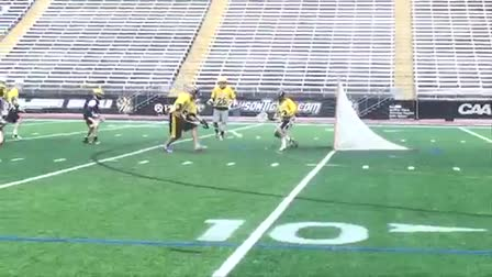 Towson  Lacrosse Alumni Game Highlights 2013
