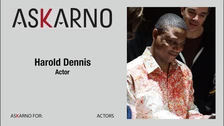 Promo Video Actor Harold Dennis