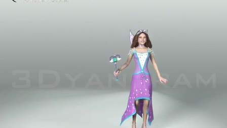 Watch Fairy Character Video Production,Product Modeling and 3D Character Animation by GameYan Studio