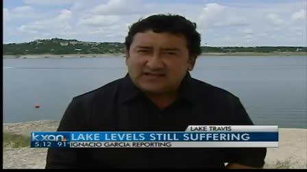 Lake Travis lake levels affecting business