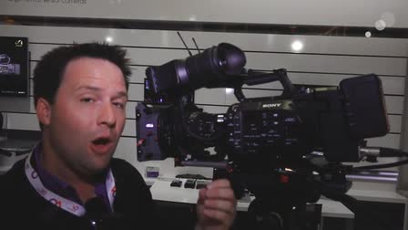 IBC 2014: First Look at the Sony PXW-FS7