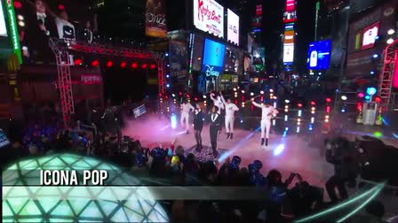 Times Square New Year's Eve Highlight video