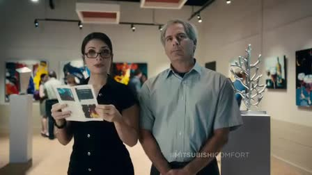 "Mitsubishi Electric Commercial with Fred Couples ""Museum Problems"""
