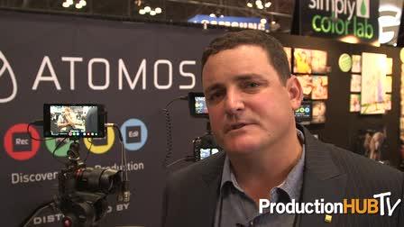 Lucas Gilman on Atomos Products - PhotoPlus Expo 2014