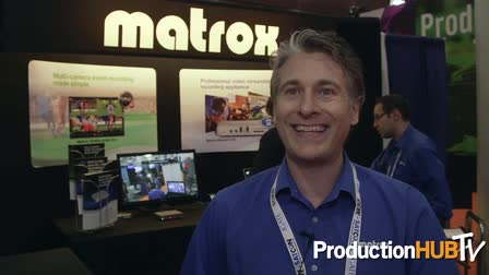 Matrox & Monarch HD Video Streaming