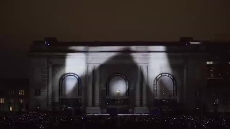 Bazillion Pictures Creates A 3D Architectural Projection Mapping Spectacle   For Union Station's Centennial Celebration