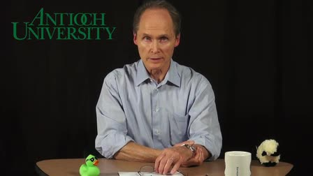 Video sample of James Malarkey, Ph.D. -- Psyhcology lecture for use online with Antioch University Connected