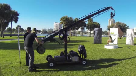 Florida Camera Crane Services - Jib Owner Operator Dayton Stone - Behind the Scenes