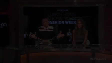 """Yahoo! - """"Lunch Hour at NY Fashion Week"""""""