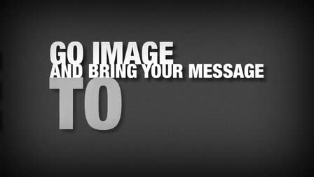 GO IMAGE Promotional Video