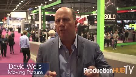 David Wells of Moving Picture - ARRI SkyPanel - NAB 2015